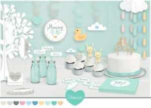 Oh Baby Stylish Baby Shower Unisex Decoration Collection Green