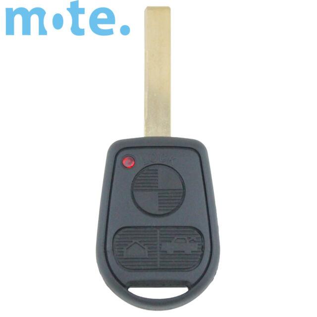 BMW 3 Button Key Remote Case/Shell/Blank 3-5-7 SERIES X3/X5/Z4/E38/E39/E46/M5/M3