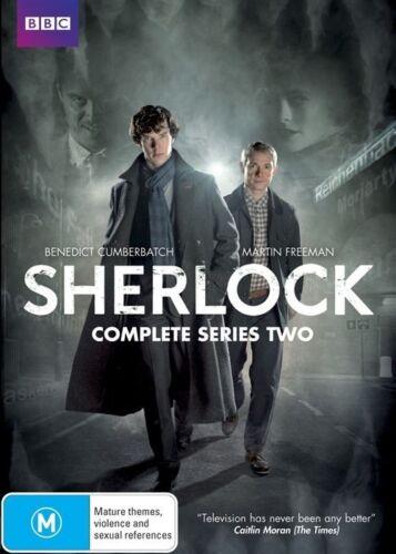 1 of 1 - Sherlock : Series 2 [ 2 DVD Set ] Region 4, NEW & SEALED, Fast Post...7887