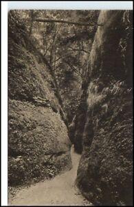 Eisenach-Thueringen-Ansichtskarte-1920-30-Die-Drachenschlucht-ungelaufen