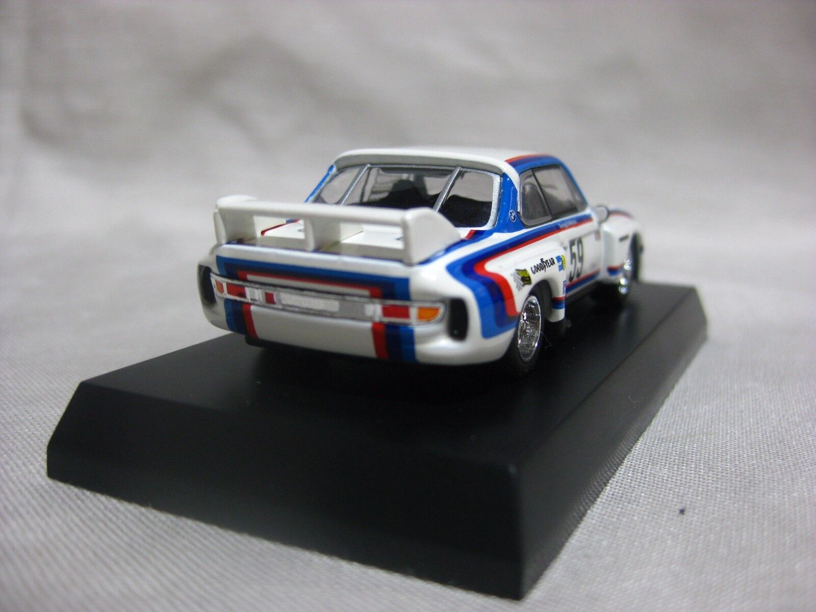 1 1 1 64 Kyosho BMW 3.5CSL No.59 Diecast Model Car 8af763