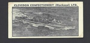 CLEVEDON - BRITISH SHIPS - #29 HMS TENACIOUS