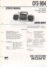 SONY - CFS-904 - Service Manual Schaltbild - B3181