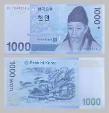 Südkorea / South Korea 1000 Won 2007 p54a unz.
