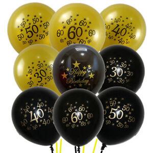 10PCS-Anniversaire-Nombre-Age-ballons-30-40-50-60th-Birthday-Party-Decor-12-034-A