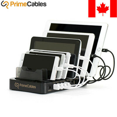 10-Port Multi USB Smart Charging Station Charger Stand For iPhone iPad Samsung