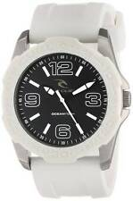 New Rip Curl Tubes Plastic Bezel Watch Waterproof 100m Surf White