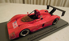 Ferrari 333 Presentation 1994 Spark Model 1/43, New in Box, Ships From USA