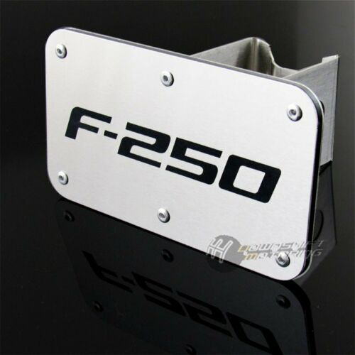 """For Ford F250 F-250 Chrome Stainless Steel Hitch Cover 2/"""" Trailer Tow Receiver"""