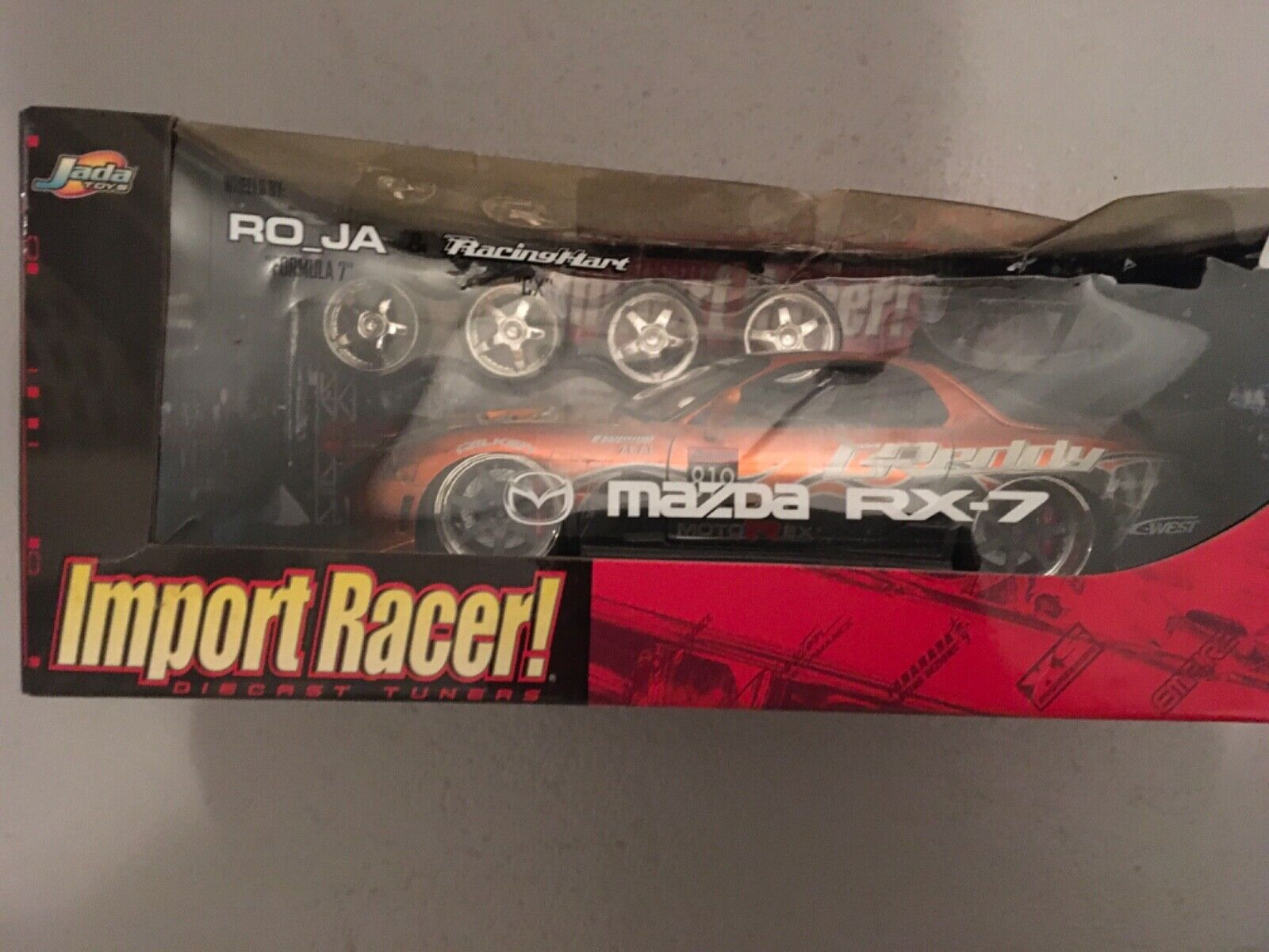 Jadatoys 1 18 Mazda RX-7 Import Racer, Rarität, Neu, OVP,  63524