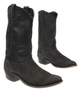 Vintage NUBUCK SUEDE Cowboy Boots 10 D