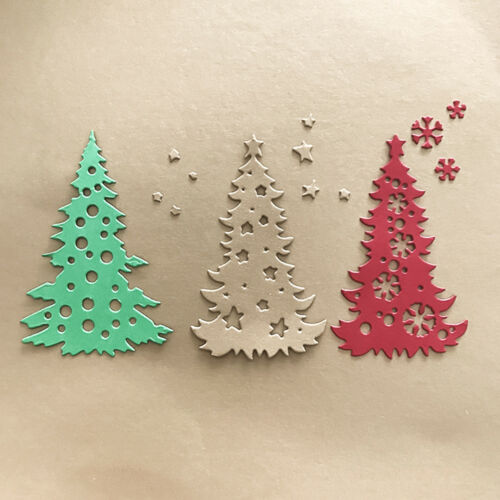 Christmas tree Design Metal Cutting Dies For DIY Scrapbooking Card Paper AlbumBI