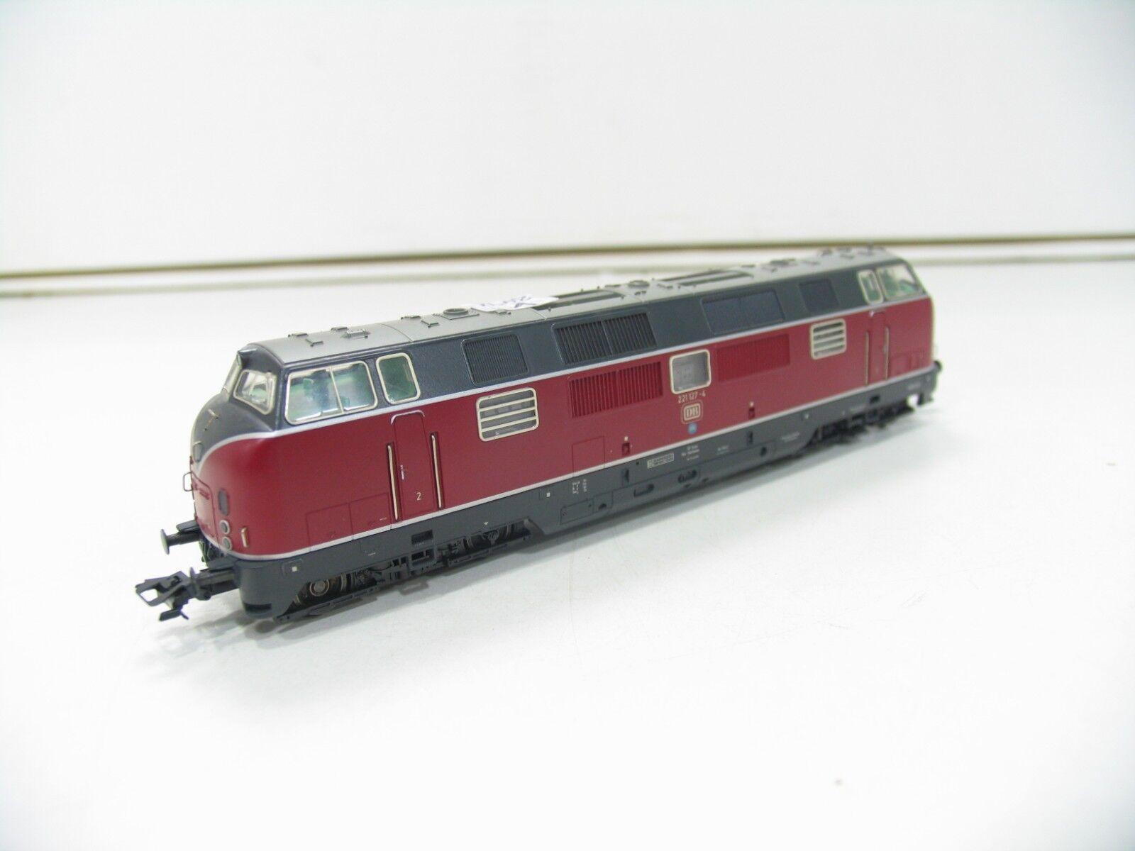 Märklin H0 3482 Diesellok BR 221 127-4 DB UMBAU DIGITAL 6090  (V2441)
