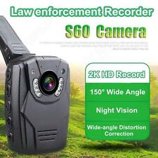 2K HD S60 Body Personal Security &Police Camera Night Vision 6-hour Record 16GB