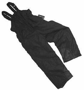 New Boys Snowsuit Pants Toddlers Size 3t Blk Insulated Ski