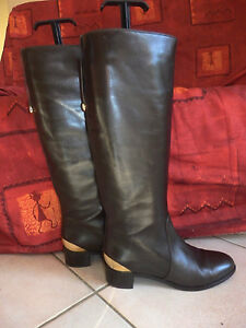Leather 36 5 Sergio Boots P Authentic Brown Details Rossi Riding About Eu LzVjpSMqUG