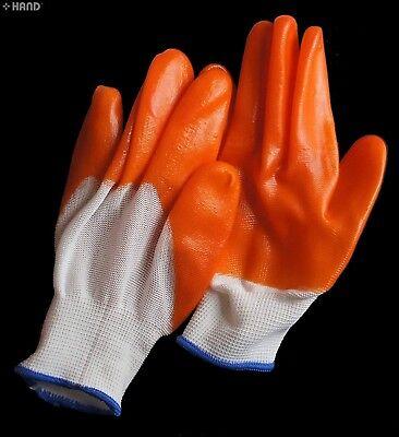 3 Pairs Agreeable To Taste Cooperative O8-kfkw-i075 Gardening Gloves Fabric Nylon Non-slip Rubber Grip Gardening Gloves