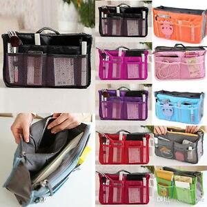 LADY-Donne-Borsa-da-Viaggio-Borsetta-Borsa-Make-Up-Cosmetici-Borsa-Organizzatore-Zip-Liner