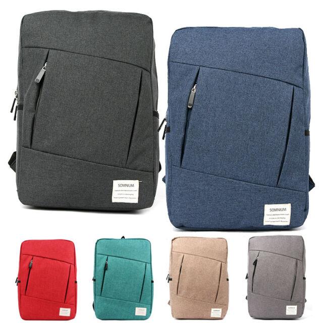 Fashion Vintage Unisex Canvas Backpack Rucksack Satchel School Bag Hiking Bag