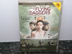 House-Of-Flying-Daggers-DVD-Ziyi-Zhang-Andy-Lau-2-Disc-Edition-Ex-Rental