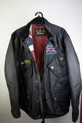 Vintage Barbour international  Union wax jacket Me