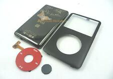 Black Faceplate Housing Back Case Red Clickwheel fr iPod 6th Classic 80GB U2