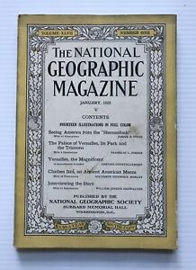 National-Geographic-Magazine-January-1925-Versailles-The-Magnificent