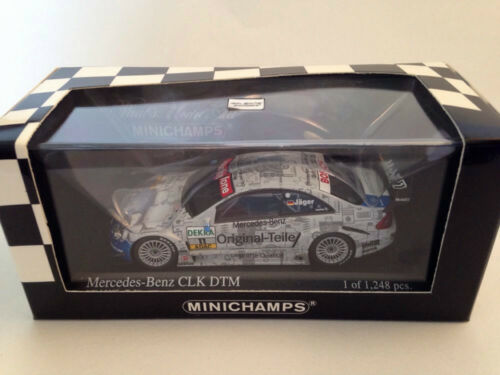 Jager Minichamps 1//43 Mercedes Benz CLK DTM 2003 #11 T