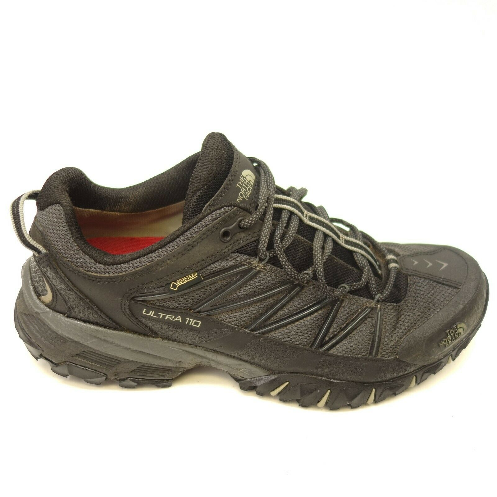 North Face Herren Ultra 110 Größe 10.5 Blk Athletic Stütze Trail Wanderschuhe   | Outlet Online