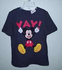506693e3 item 4 NWT Old Navy Boys 4T Short Sleeve MICKEY MOUSE Disney Tee T-Shirt  GRAY #3211117 -NWT Old Navy Boys 4T Short Sleeve MICKEY MOUSE Disney Tee  T-Shirt ...