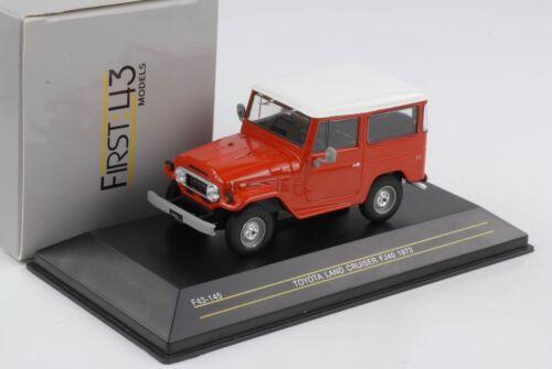 Toyota Land Cruiser FJ40 rot 1973 diecast 1:43 First 43