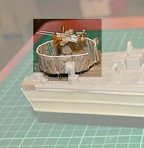 Details about Coastal Craft Twin manual 20mm Oerlikon - Bandstand mounting  Model boat Fittings