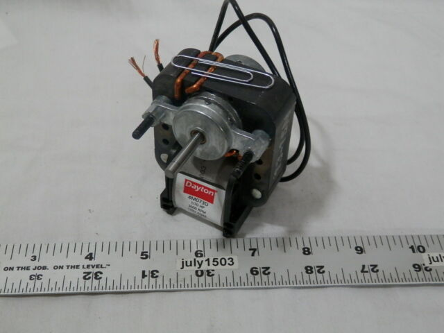 DAYTON 1//70 HP C-Frame Motor NEW! 115 Voltage Shaded Pole 3000 RPM