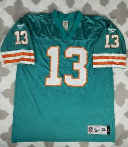 472bb675eb1 Image is loading Dan-Marino-Miami-Dolphins-Reebok-Vintage-Collection-Sz-
