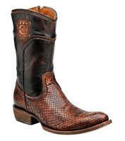 Python Cuadra Urban Western Boots Python By Cuadra Boots 2d02ph