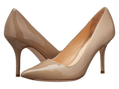 Brand New Cole Haan Bradshaw Pump 85 Maple Sugar Patent shoes