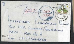 Zimbabwe (pp1405b) 80 C Pour Usa Taxée 210/290