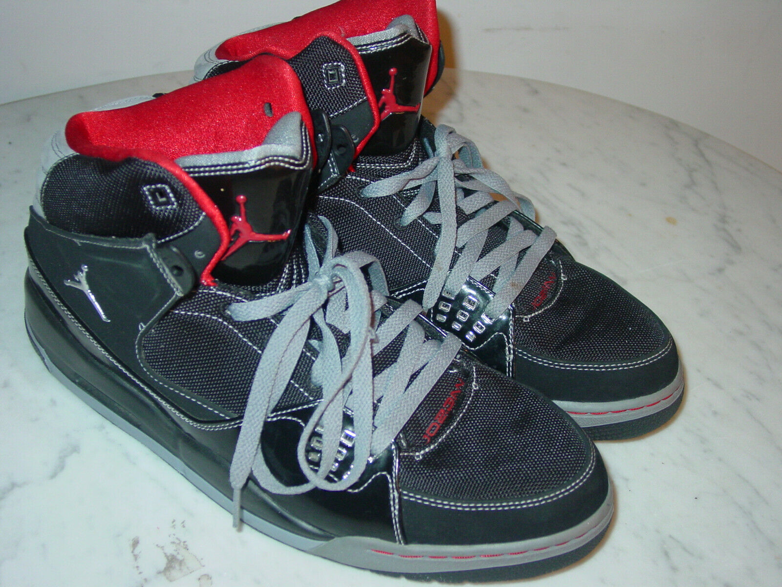the best attitude c2df5 26ab9 2010 Mens Mens Mens Nike Air Jordan Flight SC-1 Black Stealth Varsity Red  shoes