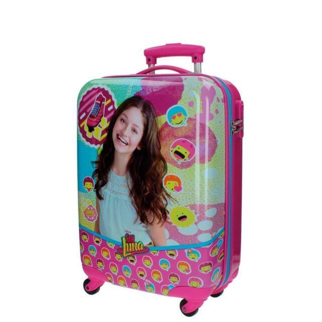 Soy Luna Maleta de cabina material rígido y ligero Trolley Abs Disney Serie TV