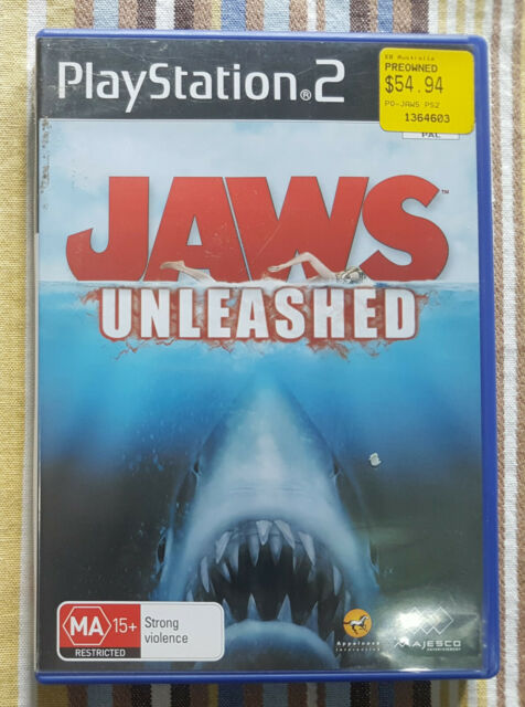 Jaws Unleashed (Sony PlayStation 2, 2006) AUS PAL