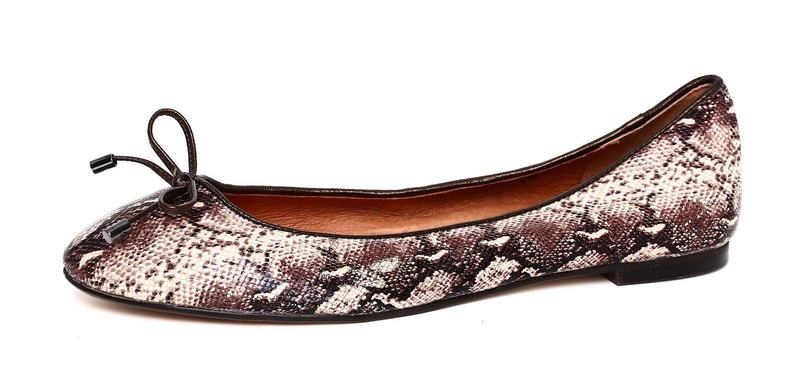Halogen Women's Slip On Leather Multi color Flats Sz 6.5M 2818
