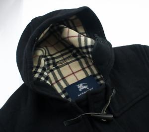 Burberry-London-Duffle-coat-Nova-Check-Laine-Femme-Taille-UK-8-S-petit-40-6-US