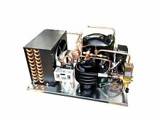 Combo Airwater Condensing Unit 1 Hp Low Temp R404a 220v Embraco Nt2180gkv2