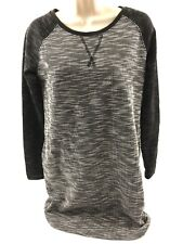 ddcf62cc80 item 5 NWOT Merona Knit Sweater Dress With Pockets Black Gray Long Sleeve  Sz XS (023a) -NWOT Merona Knit Sweater Dress With Pockets Black Gray Long  Sleeve ...