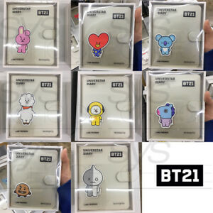BTS-BT21-Official-Authentic-Goods-Universtar-Diary-by-Monopoly-8Characters