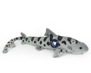 Stofftier-Leopardenhai-Hai-Plueschtier-Kuscheltier-Pluesch-Laenge-ca-46-cm