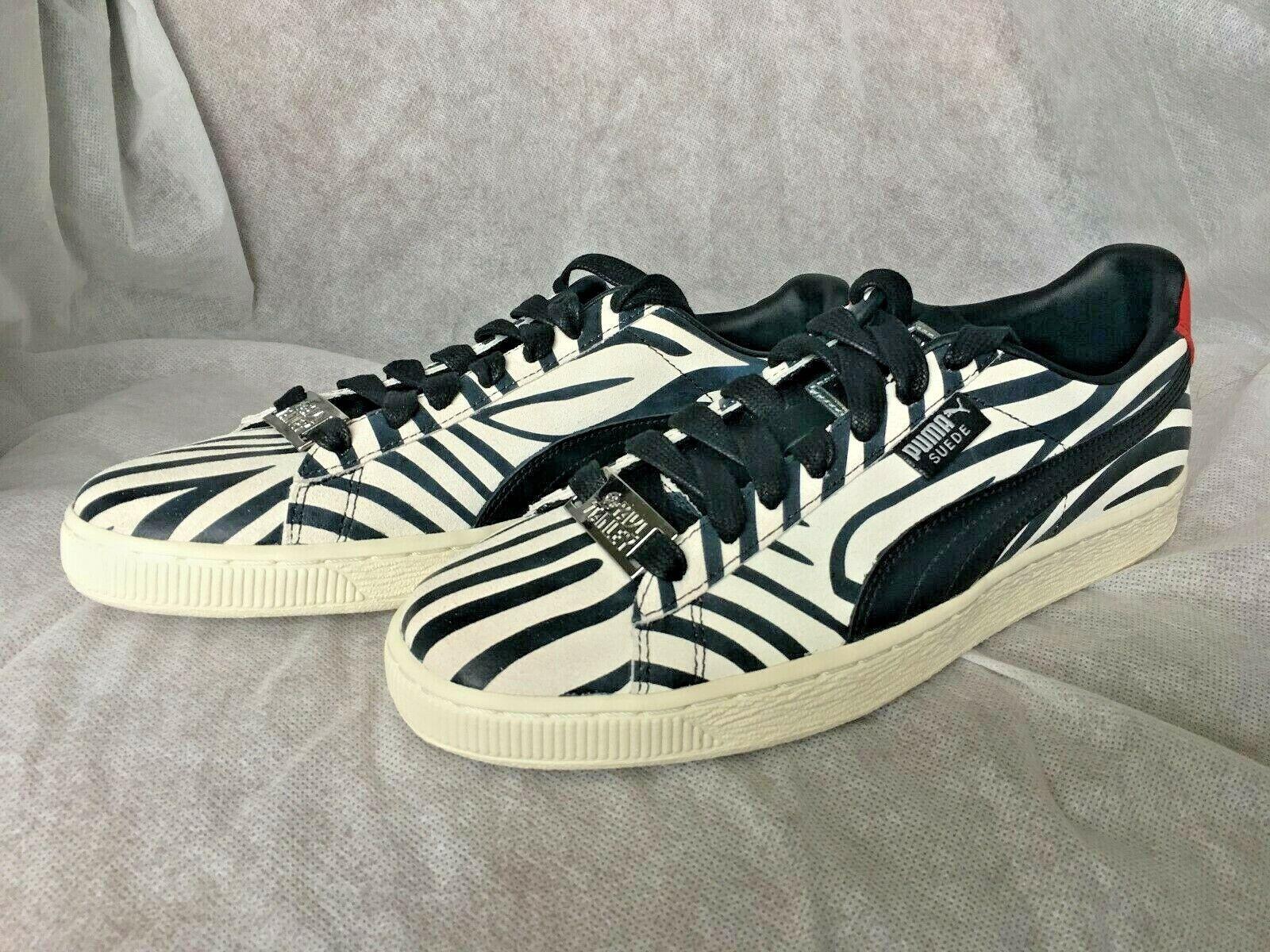 Puma x Gamuza Paul Stanley Kiss Cebra Zapatos para hombre
