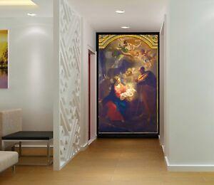 3D-Church-Angel-Baby-28-Wall-Paper-Wall-Print-Decal-Wall-Deco-Indoor-AJ-AU