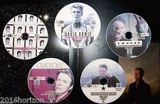 DAVID BOWIE In-Store Promotional Retrospective Music Video Reel 5 DVD Set 67-16