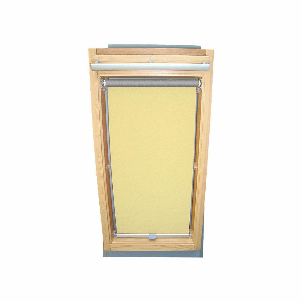 Persiana oscurecer térmicos para rojoo tragaluz WDF 410 - 419-amarillo claro